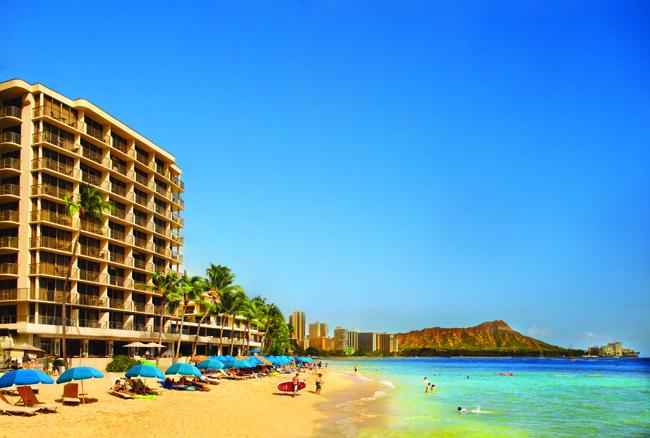 Outrigger Reef Waikiki Beach Resort.