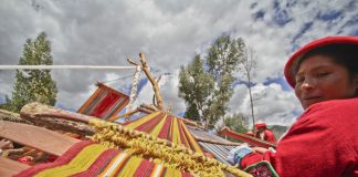 Peru's Sacred Valley Women's Weaving Co-op.