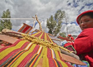 Peru's Sacred Valley Women's Weaving Co-op.