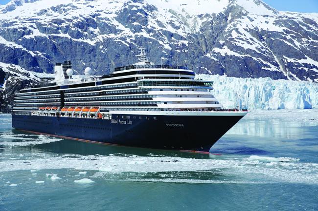 MS Westerdam, Glacier Bay, Alaska.