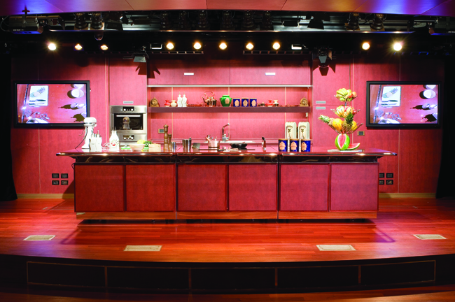 The Culinary Arts Center aboard the ms Noordam.