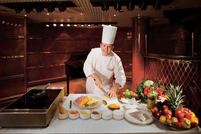 Chef David Blisland leads Silversea's culinary program.