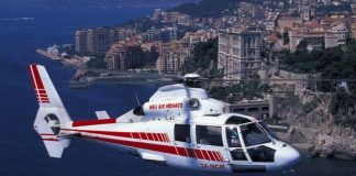 A Heli Air ride over Monaco.