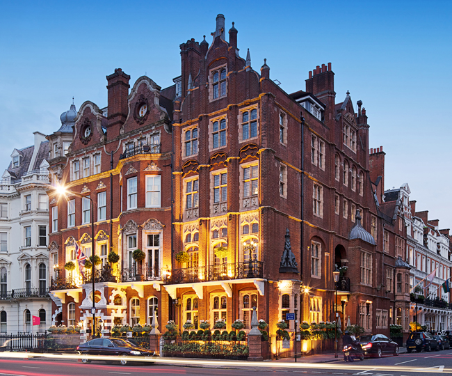 The Milestone Hotel in London.