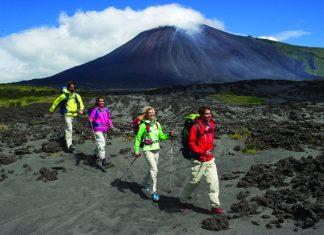 Volcano trekking, hiking and mountain biking are some of the activities Guatemala offers adventurous travelers. (Guatemala Tourism Board)