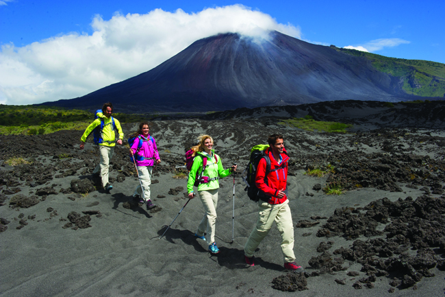 Volcano trekking, hiking and mountain biking are some of the activities  Guatemala offers  adventurous travelers. (Guatemala Tourism Board)