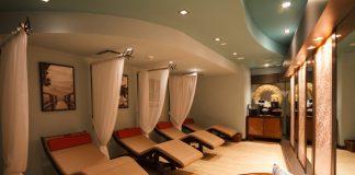 Hilton Barbados Resort eforea transition room.
