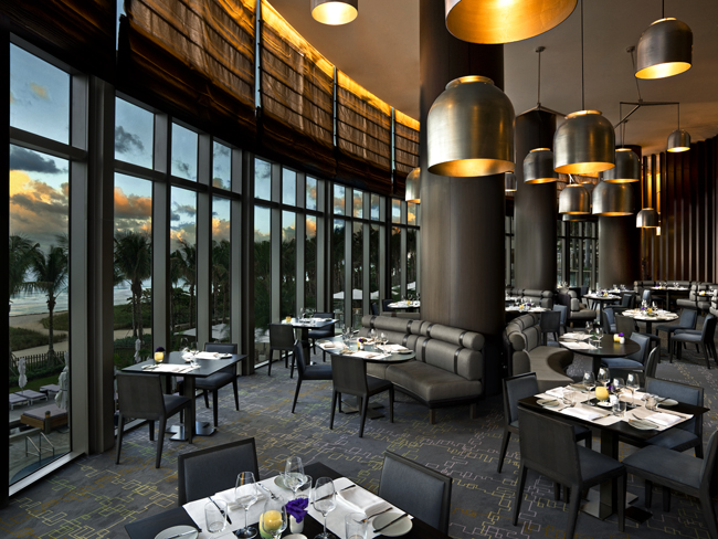 The J&G Grill at the St. Regis Bal Harbour.