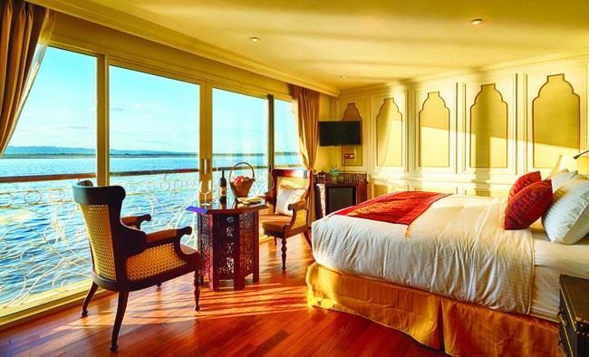 Mayflower Tours is offering a cruise on the Irrawaddy.