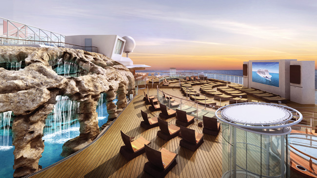 Norwegian Cruise Line's 4,200-passenger Norwegian Escape.