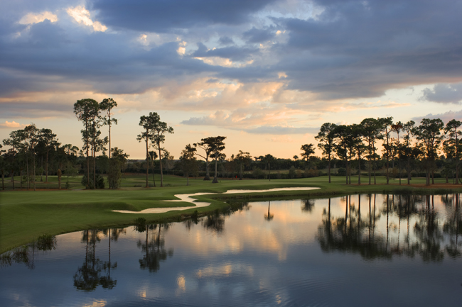 The Naples Grande Golf Club.
