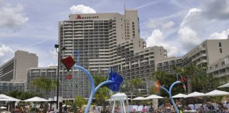 Orlando World Center Marriott.