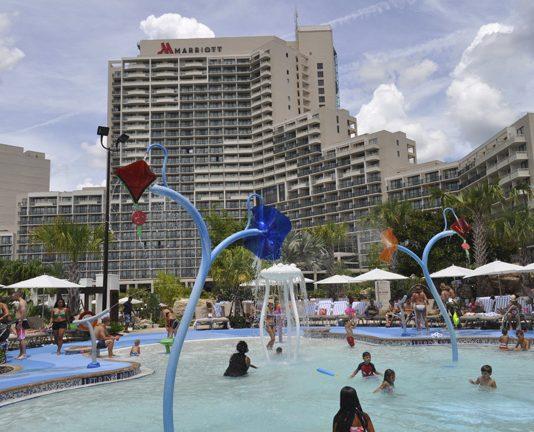 Orlando World Center Marriott.
