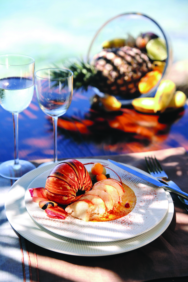 Guadeloupe offers visitors a treasure chest of seafood dishes.