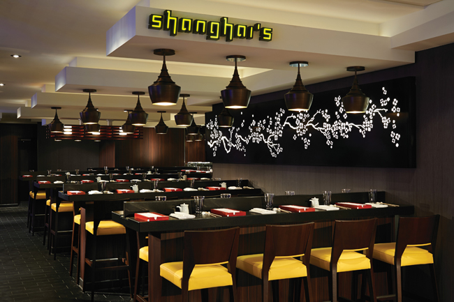 The Shanghai's Noodle Bar, on the Breakaway is among the venues that are now complimentary.