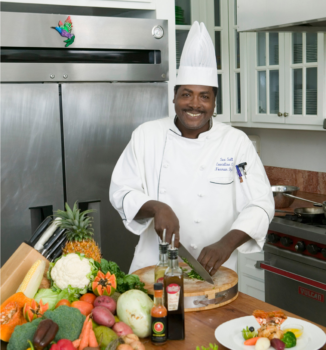 Guests staying at Sea Salt at the Tryall Club villas get their own personal chef.