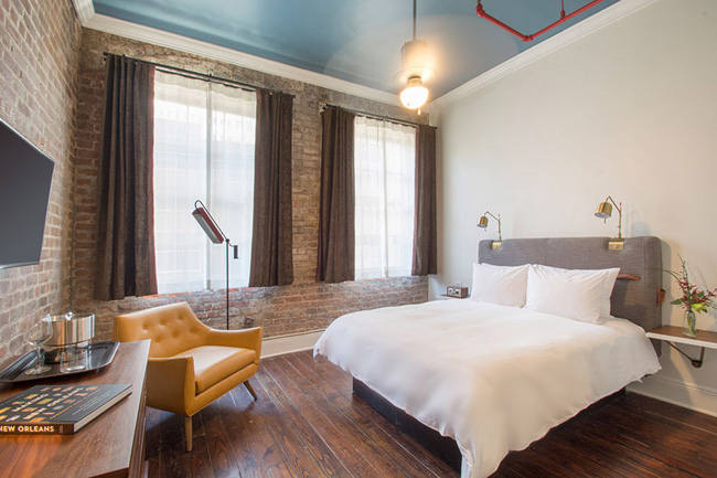Guestrooms at the Old No. 77 Hotel & Chandlery.