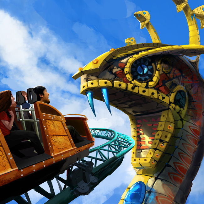 Cobra's Curse will debut in 2016.
