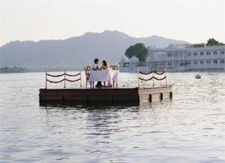 Taj Lake Palace in Udaipur.