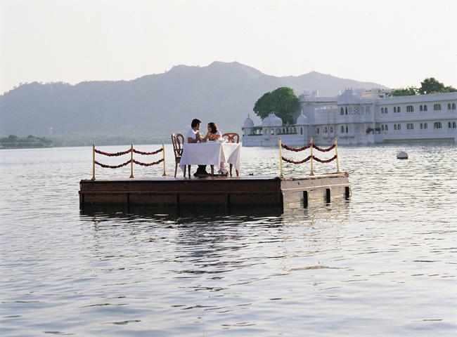 Taj Lake Palace in Udaipur.