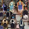 Hamsa trinkets are sold in practically every market in Israel.