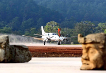 Copan Airport in Rio Amarillo Honduras opened.
