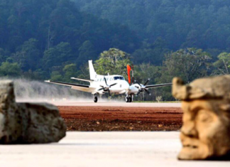 Copan Airport in Rio Amarillo Honduras opened.