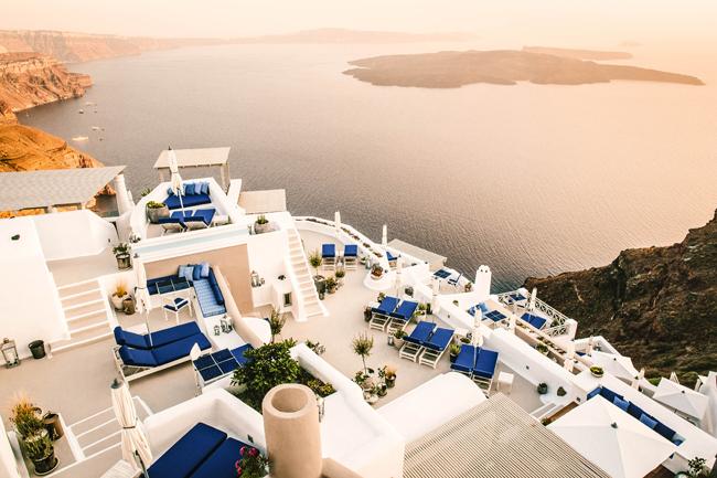 Iconic Santorini.