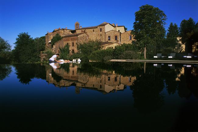 Castel Monastero in Tuscany.