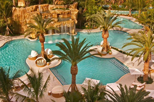 The Laguna Pool at Turnberry Isle Miami.