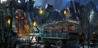 Skull Island Reign Of Kong rendering.