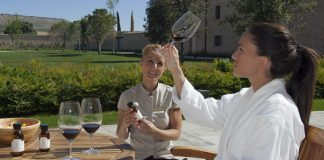 The Spa Sommelier helps guests customize their spa experience and treatment.