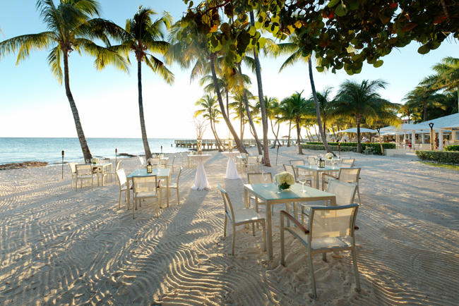 Casa Marina Resort offers a toes in the sand dining experience. (Photo courtesy of Goat Rodeo Productions Inc. Mike Foley Producer.)