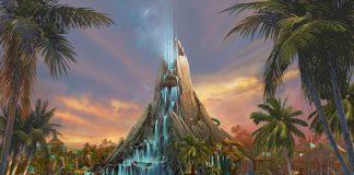 Universal's Volcano Bay rendering.
