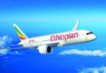 Ethiopian Airlines launches direct service from LAX to Ethiopia.