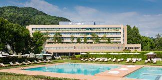 The Sheraton Lake Como Hotel.