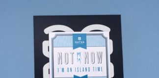 A unique take on the Do Not Disturb Sign—a magnetic sign for the front of guestroom doors.