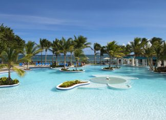 Poolside at Coconut Bay Beach Resort & Spa.