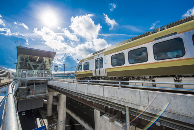 The newly opened Union Pearson Express. (Photo courtesy of Tourism Toronto.)