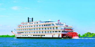 American Cruise Lines' American Eagle, which launched this year.