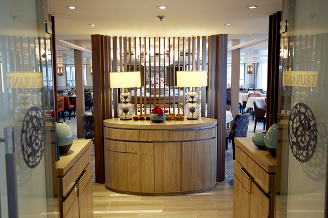 Dining Entrance on the Viking.