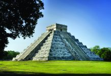 A tour of Chichen Itza is included in Mayan World itineraries. (Mexican Tourism Board)
