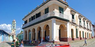 Cuba Tour Planner's 6-night program includes a visit to Cienfuegos.