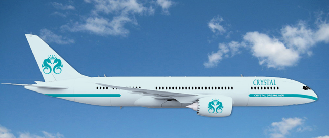 Rendering of Crystal Luxury Air.
