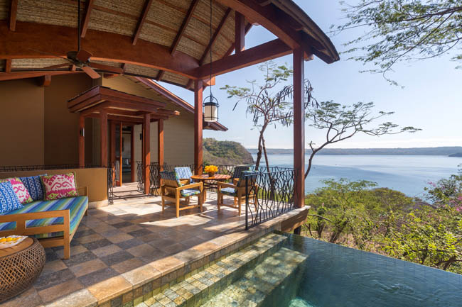 Views from the Residence Villa with Plunge Pool.