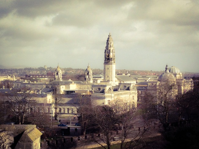 Overlooking Cardiff. (Photo courtesy: Paloma Villaverde de Rico)