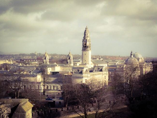 Overlooking Cardiff. (Photo courtesy: Paloma Villaverde de Rico)