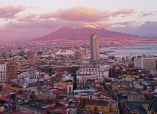 Sunset views of Naples. (Photo courtesy of Sophia's Travels.)