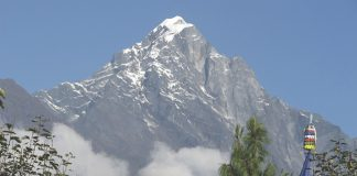 Mt. Everest in Nepal.