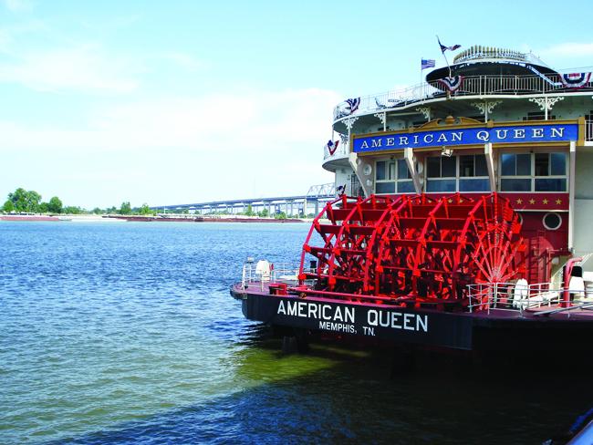 American Queen Steamboat Company's  American Queen.